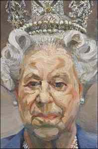 Lucian Freud, Queen Elizabeth II