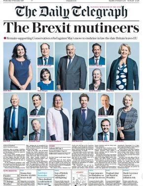 Anna Soubry, la Tory anti-Brexit meno mansueta di Westminster (da 'Il Foglio' del 19gennaio)
